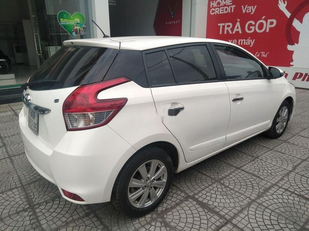 Cần bán xe Toyota Yaris đời 2014, màu trắng, xe nhập (8)