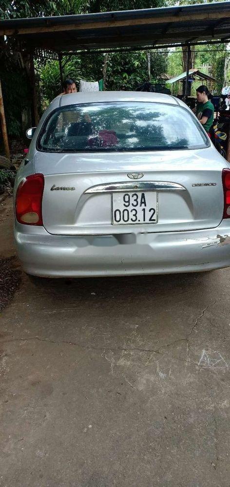 Bán Daewoo Lanos MT năm 2003, màu bạc, xe nhập (3)