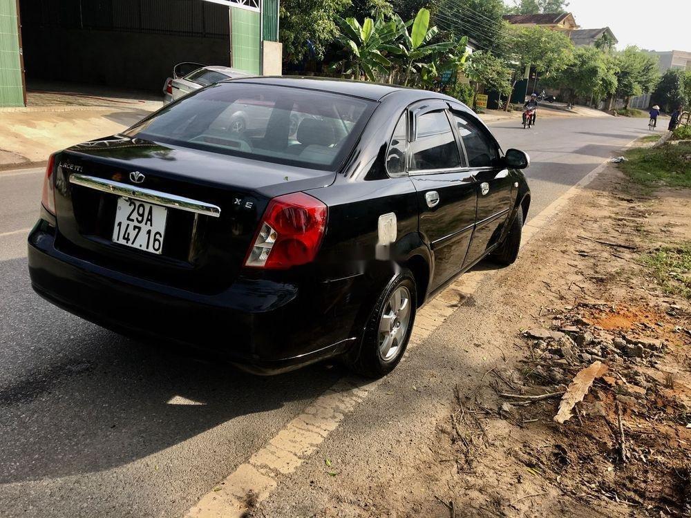 Bán Daewoo Lacetti sản xuất 2005, màu đen, giá tốt (4)