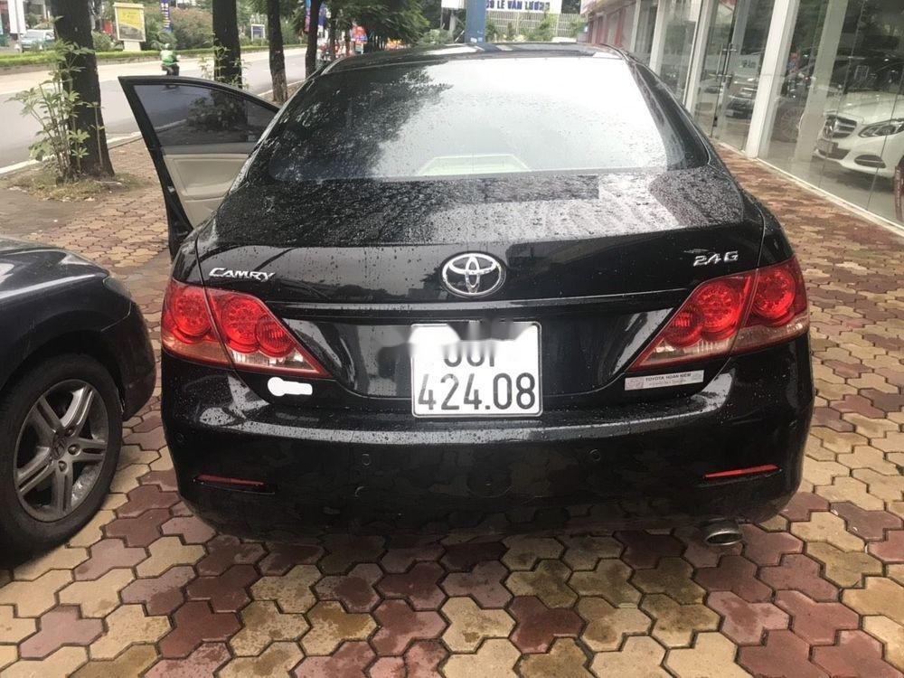 Bán ô tô Toyota Camry 2.4 AT năm sản xuất 2008, màu đen chính chủ (4)