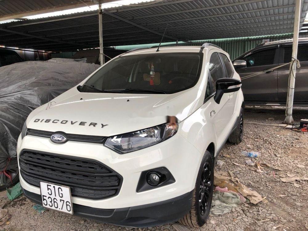 Bán Ford EcoSport Titanium Black Edition AT sản xuất 2017, màu trắng như mới (2)