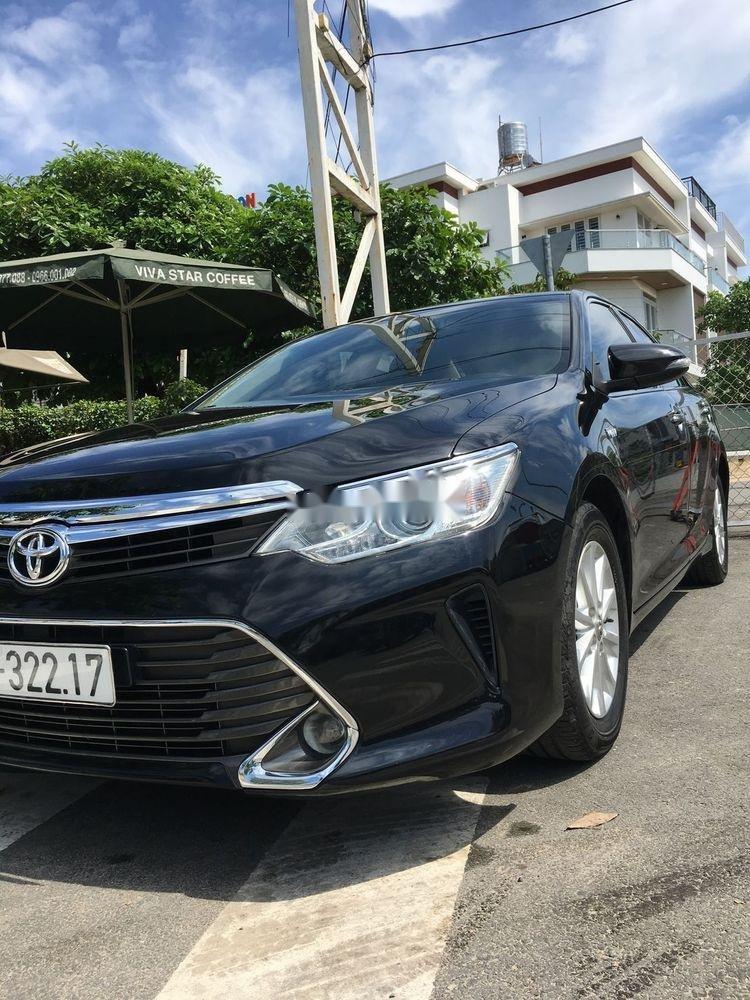Bán Toyota Camry 2.5G đời 2016, màu đen chính chủ  (7)