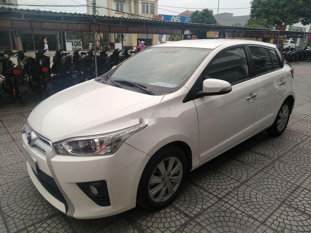 Cần bán xe Toyota Yaris đời 2014, màu trắng, xe nhập (6)