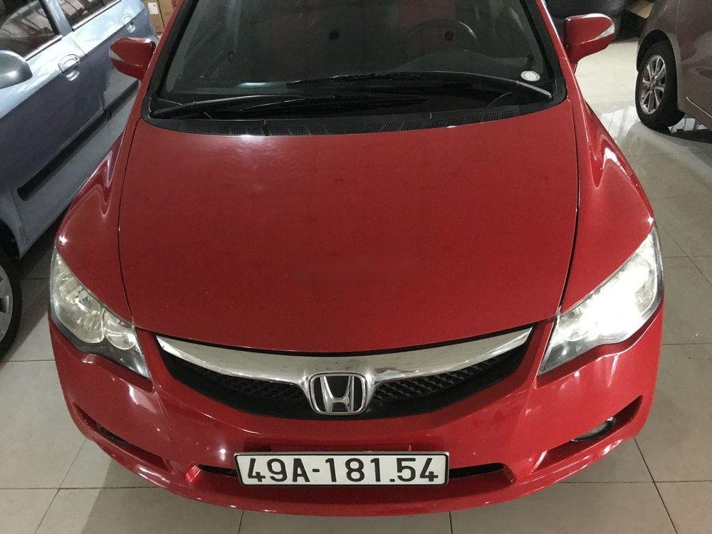 Xe Honda Civic 2.0 AT năm sản xuất 2008, màu đỏ số tự động, giá 339tr (3)