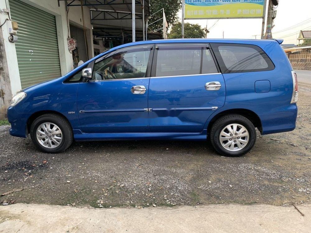 Cần bán lại xe Toyota Innova sản xuất năm 2008, màu xanh lam (4)