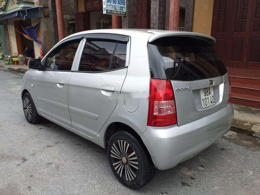 Bán xe Kia Morning sản xuất 2007, màu bạc, xe nhập, giá tốt (3)