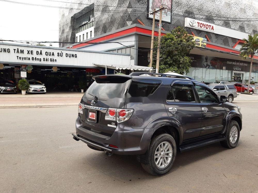 Cần bán Toyota Fortuner G sản xuất 2014, màu xám số sàn (5)