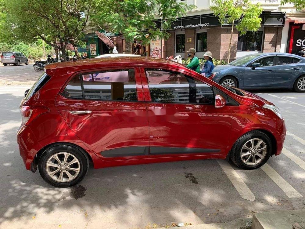 Cần bán lại xe Hyundai Grand i10 1.2AT năm 2015, màu đỏ, nhập khẩu (5)