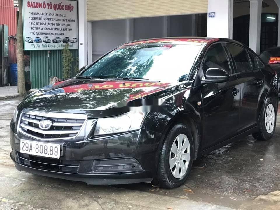 Cần bán xe Daewoo Lacetti đời 2009, màu đen, xe nhập (2)