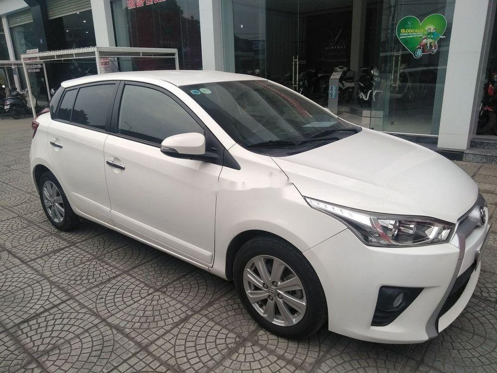 Cần bán xe Toyota Yaris đời 2014, màu trắng, xe nhập (7)