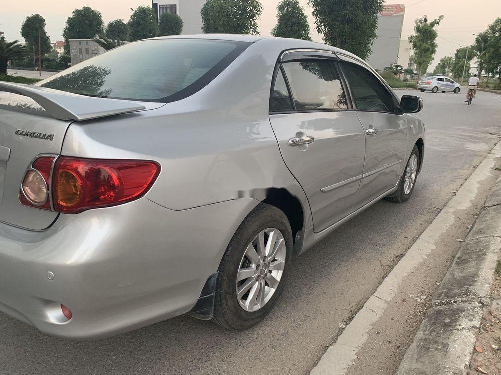 Cần bán lại xe Toyota Corolla Altis sản xuất 2008, màu bạc, nhập khẩu còn mới, giá tốt (5)