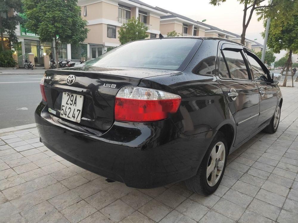 Cần bán Toyota Vios đời 2007, màu đen, nhập khẩu (5)