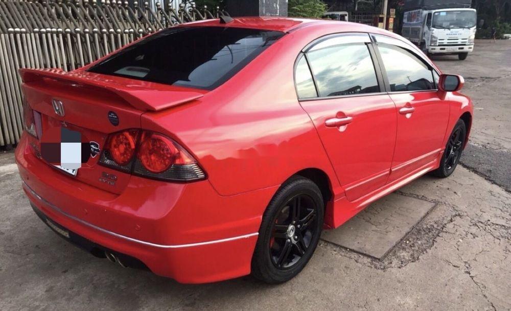 Cần bán lại xe Honda Civic năm 2008, màu đỏ xe gia đình, 320 triệu (5)