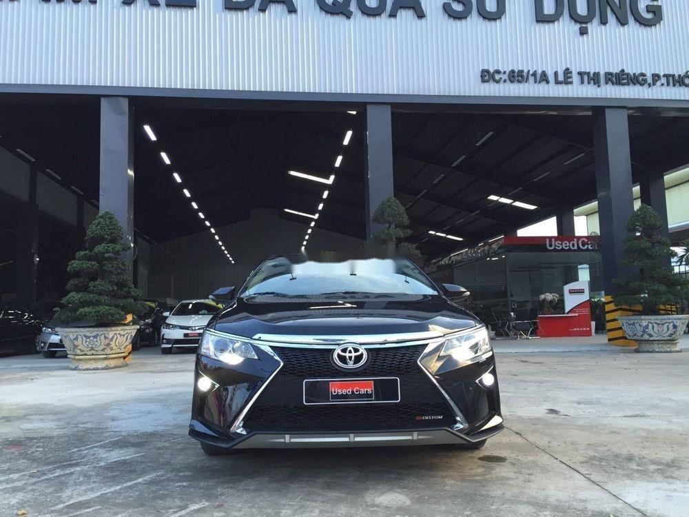 Bán ô tô Toyota Camry 2.5G AT năm sản xuất 2016, màu đen giá tốt (2)