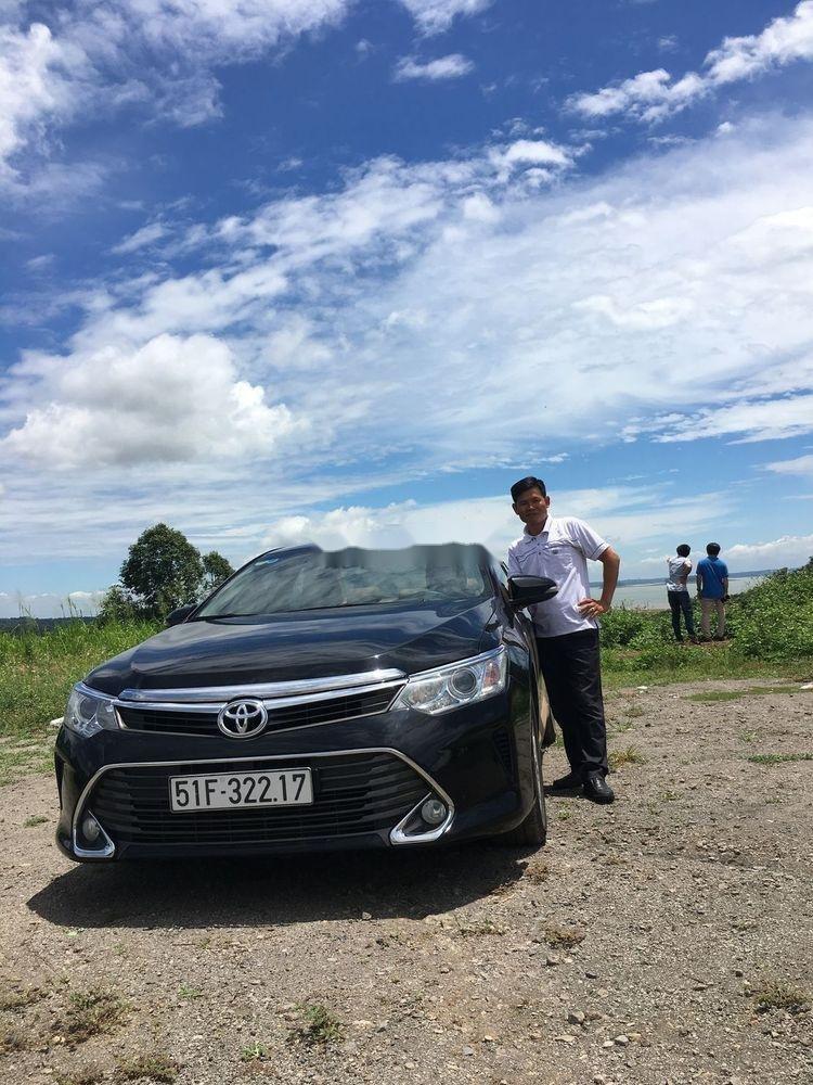 Bán Toyota Camry 2.5G đời 2016, màu đen chính chủ  (2)