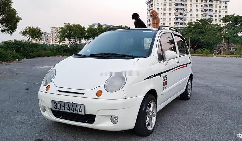 Bán xe Daewoo Matiz đời 2007, màu trắng xe nguyên bản (1)
