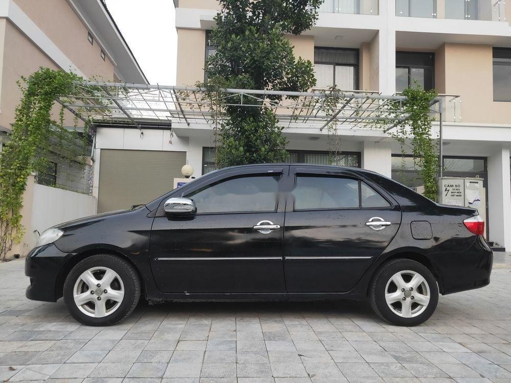 Cần bán Toyota Vios đời 2007, màu đen, nhập khẩu (2)