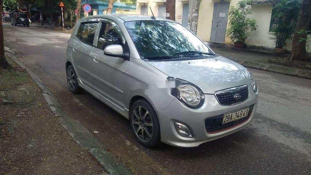 Cần bán lại xe Kia Morning đời 2011, màu bạc giá cạnh tranh (3)
