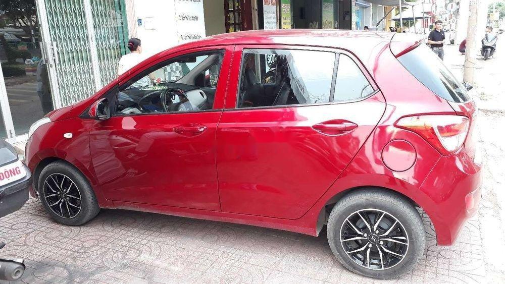 Cần bán xe Hyundai Grand i10 sản xuất năm 2015, màu đỏ, nhập khẩu số sàn giá tốt (8)