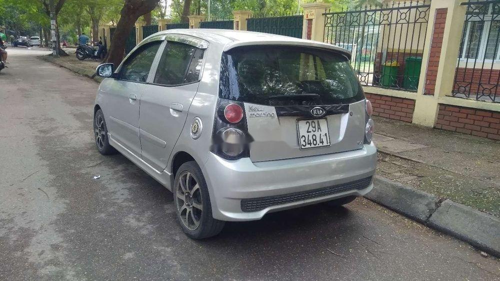 Cần bán lại xe Kia Morning đời 2011, màu bạc giá cạnh tranh (1)