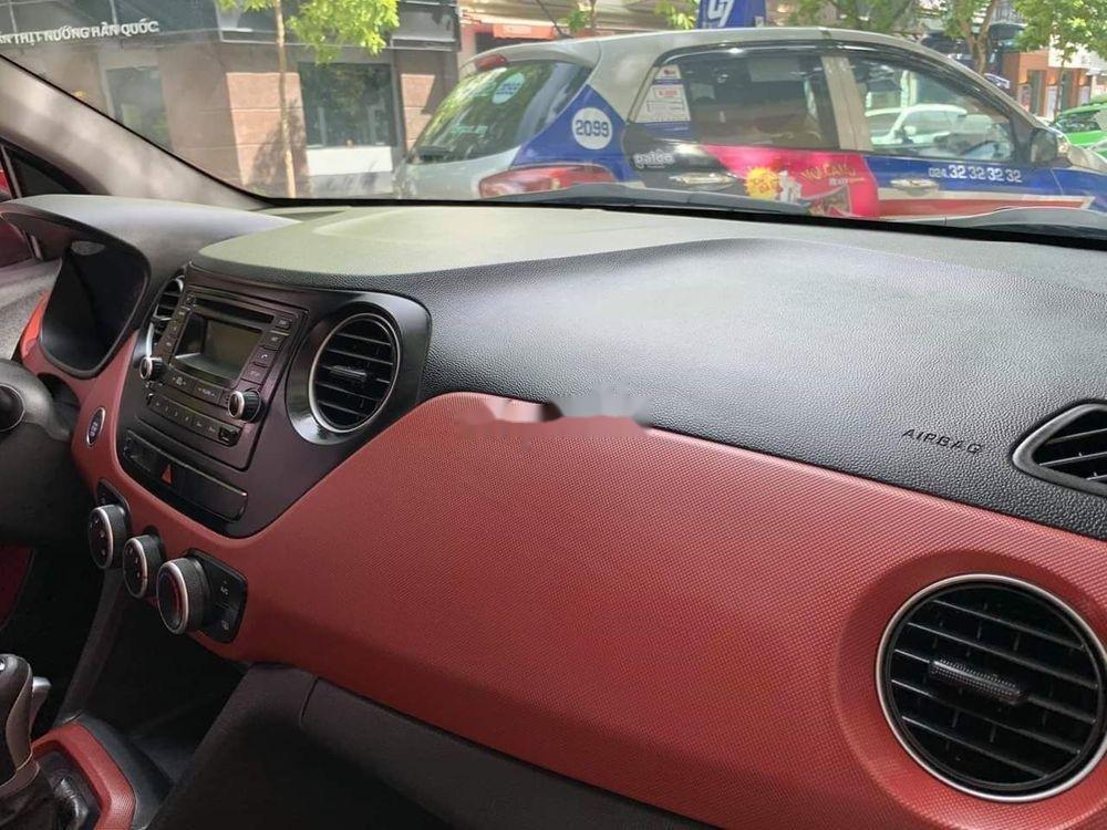 Cần bán lại xe Hyundai Grand i10 1.2AT năm 2015, màu đỏ, nhập khẩu (8)