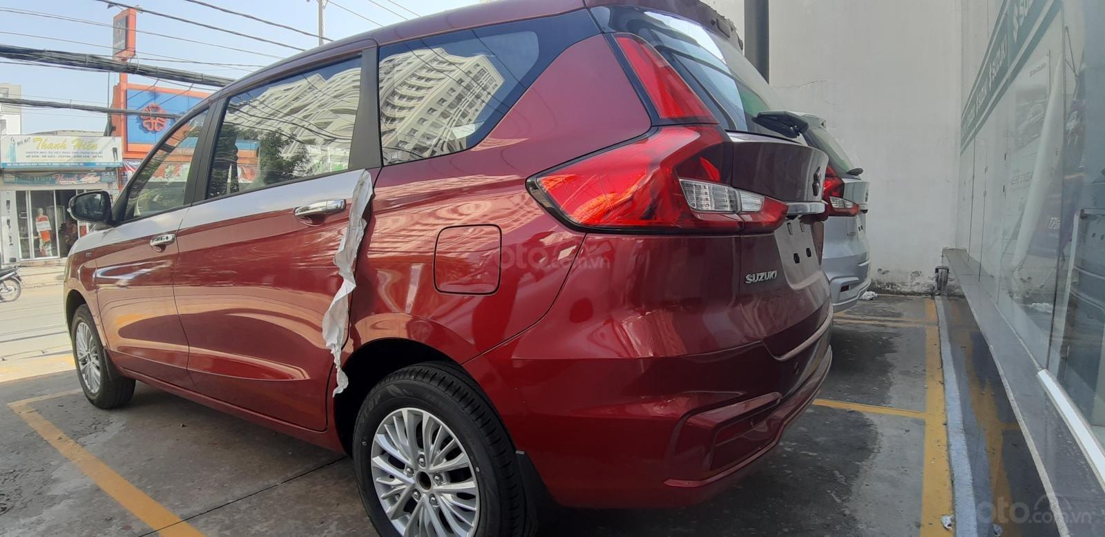 Bán Suzuki Ertiga GLX màu đỏ, xe có sẵn hot hot, hỗ trợ Bank cao (4)
