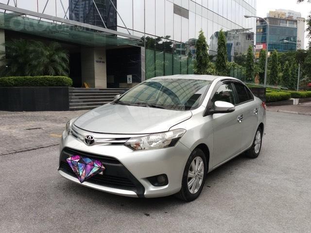 Ô Tô Thủ Đô bán Toyota Vios 1.5 MT sx 2016, màu bạc, giá 415 triệu (1)