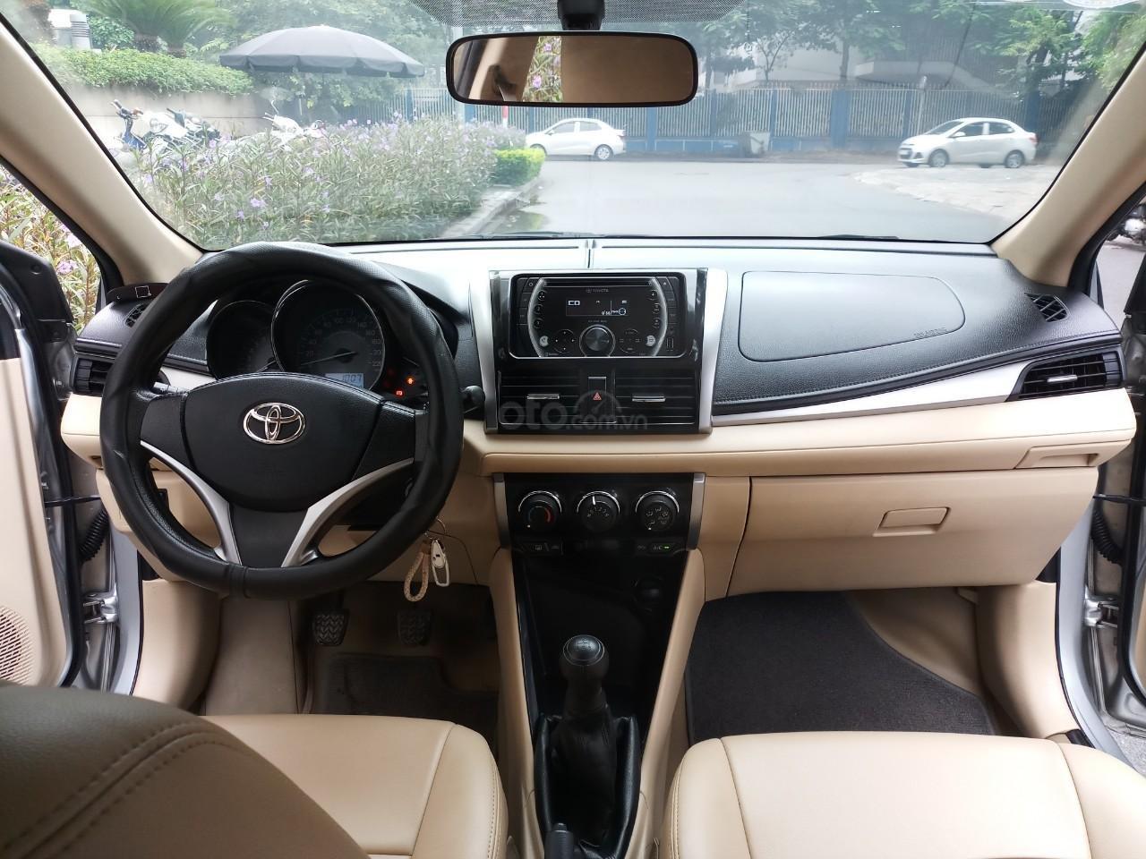 Ô Tô Thủ Đô bán Toyota Vios 1.5 MT sx 2016, màu bạc, giá 415 triệu (6)
