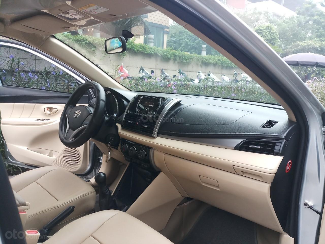 Ô Tô Thủ Đô bán Toyota Vios 1.5 MT sx 2016, màu bạc, giá 415 triệu (8)