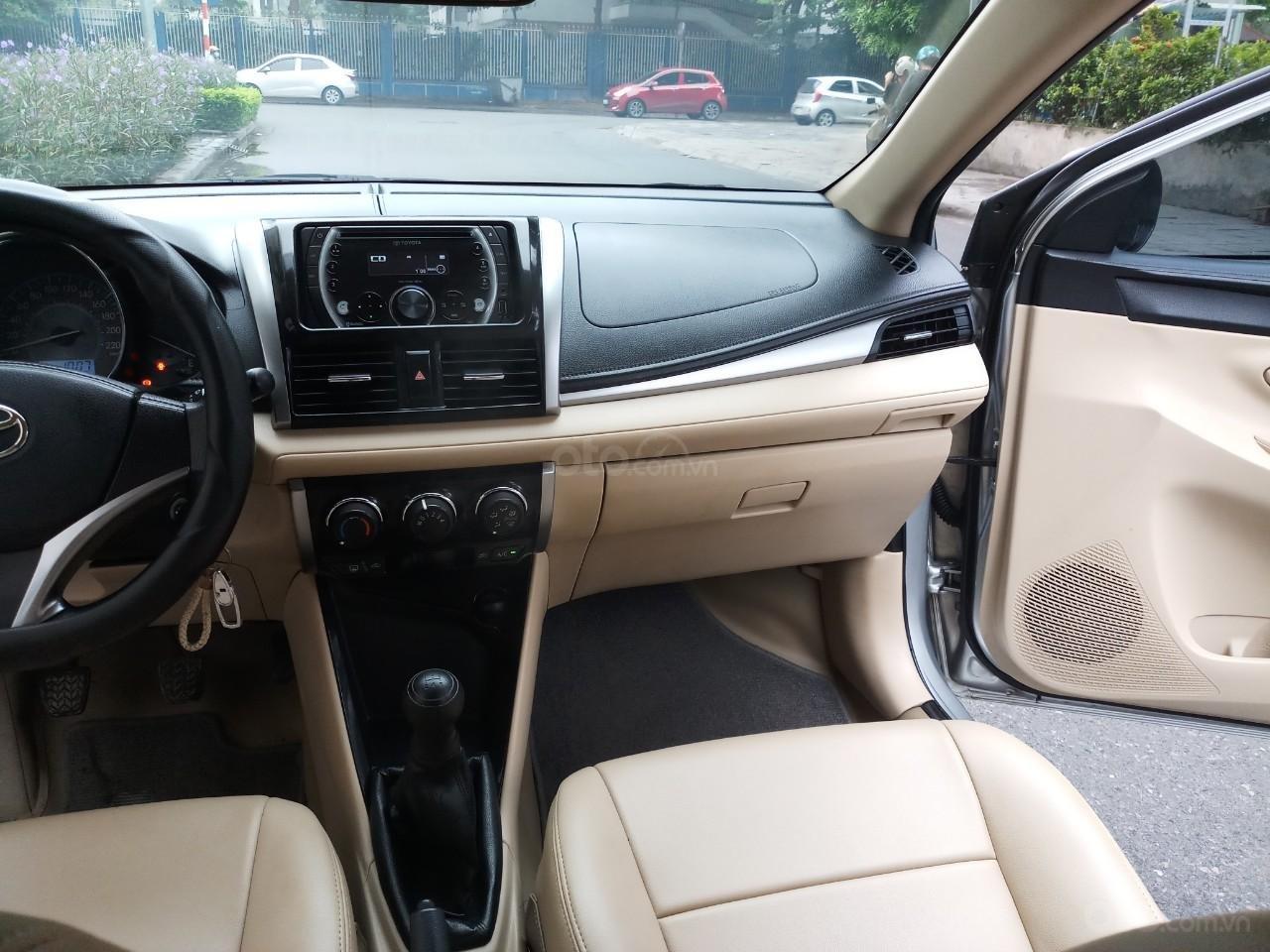 Ô Tô Thủ Đô bán Toyota Vios 1.5 MT sx 2016, màu bạc, giá 415 triệu (9)