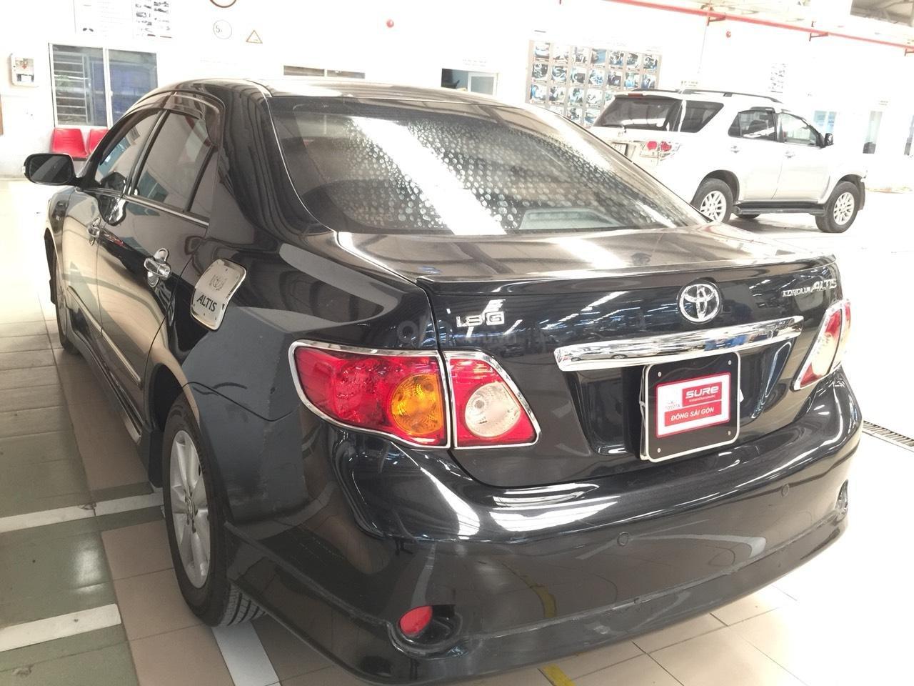 Altis 2009 màu đen, giá cả bình dân, giá còn thương lượng, alo em để xem xe nha (7)