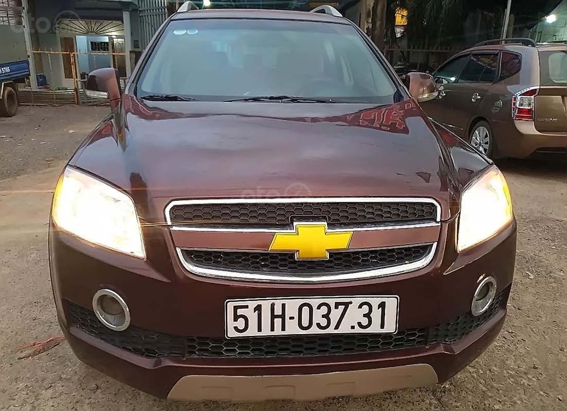 Cần bán xe Chevrolet Captiva năm 2007, màu nâu, nhập khẩu, giá tốt (1)