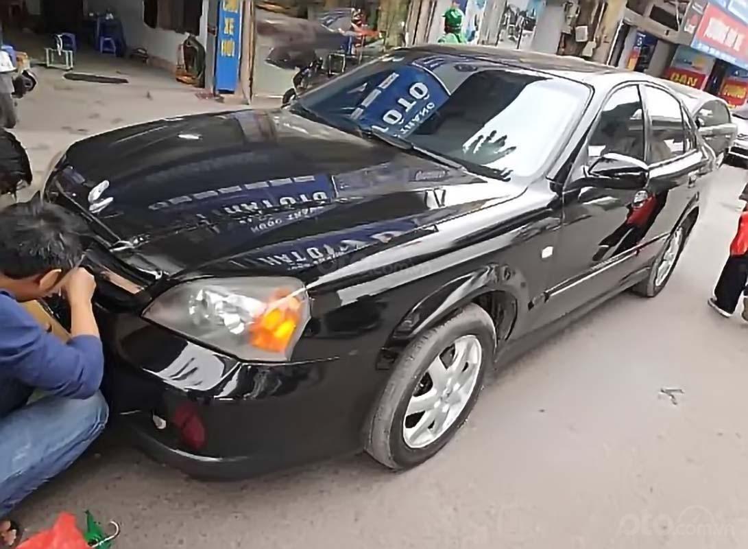 Chính chủ bán Daewoo Magnus năm sản xuất 2006, màu đen, nhập khẩu (1)