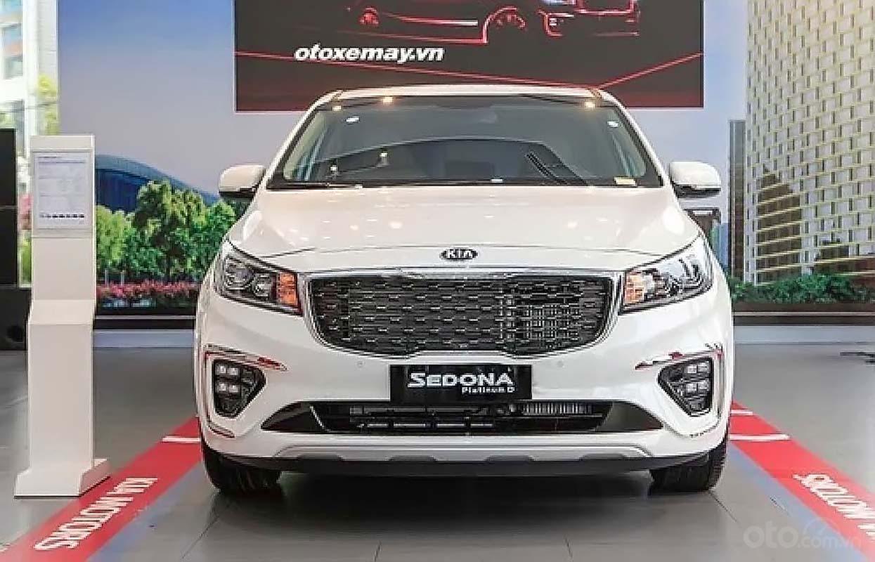 Cần bán xe Kia Sedona đời 2019, màu trắng (1)
