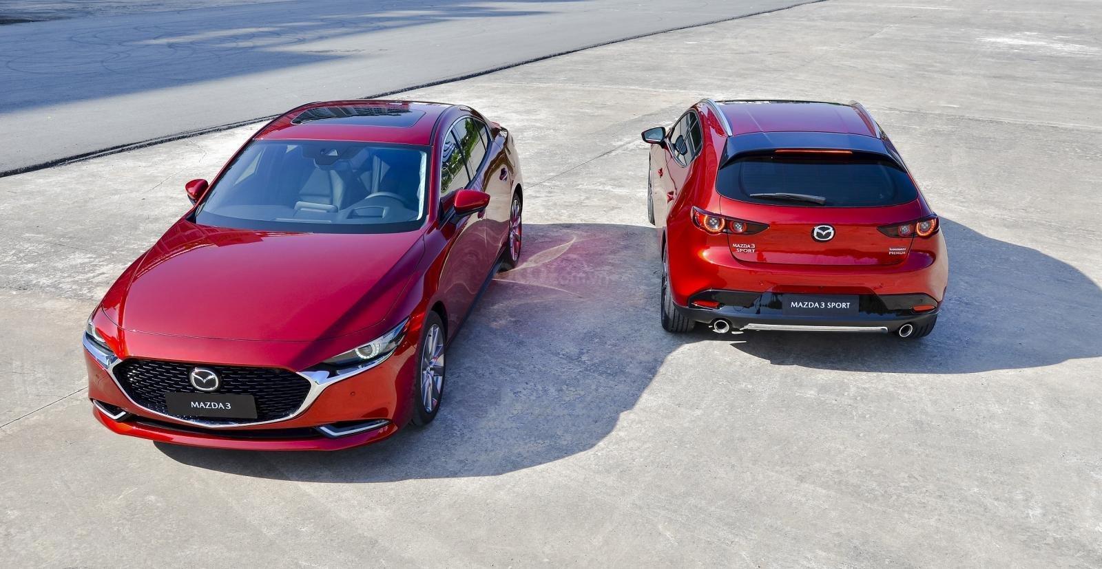 Ngoại thất xe Mazda 3 2020 thế hệ mới 1