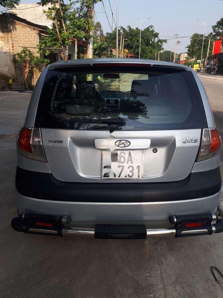 Bán xe Hyundai Getz sản xuất năm 2008, màu bạc, nhập khẩu nguyên chiếc (2)