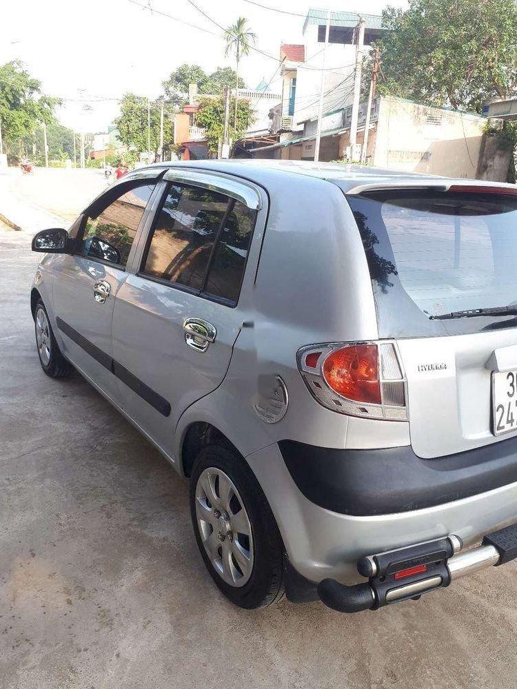 Bán xe Hyundai Getz sản xuất năm 2008, màu bạc, nhập khẩu nguyên chiếc (1)
