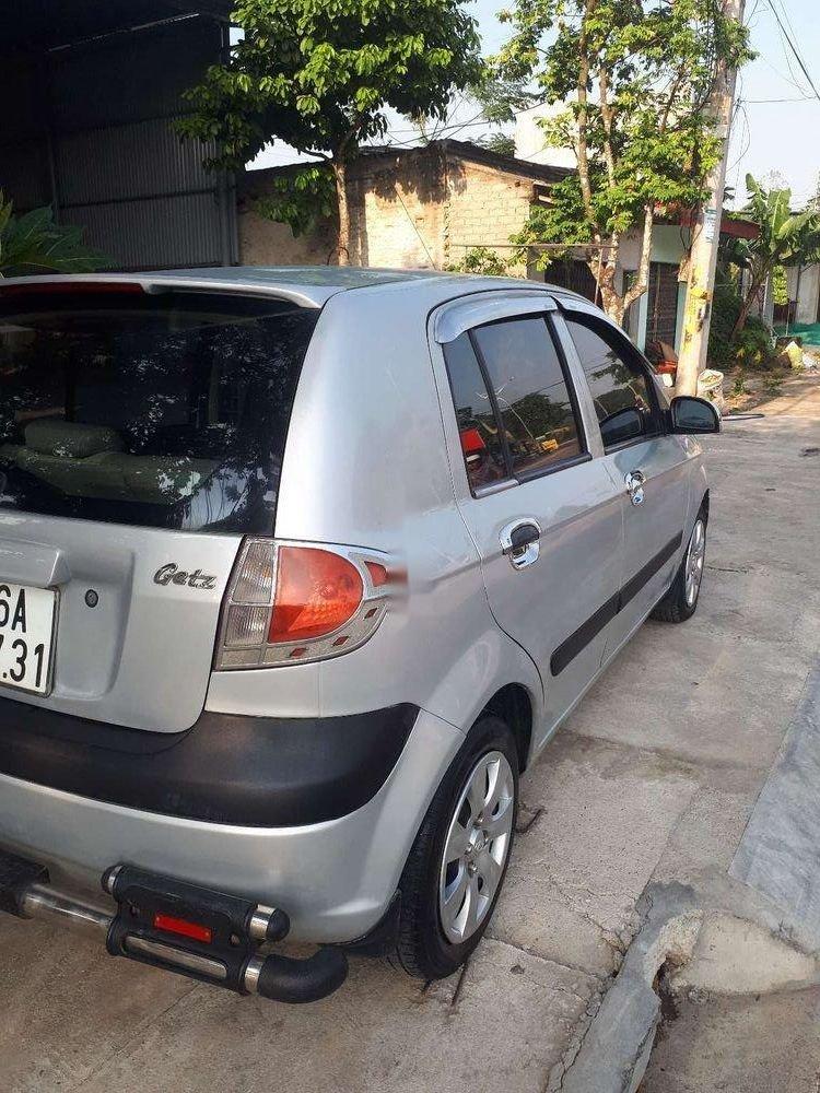 Bán xe Hyundai Getz sản xuất năm 2008, màu bạc, nhập khẩu nguyên chiếc (3)