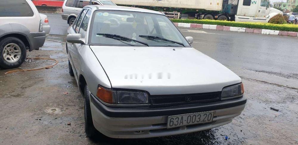 Chính chủ bán Mazda 323 đời 1995, màu bạc, máy chất (1)
