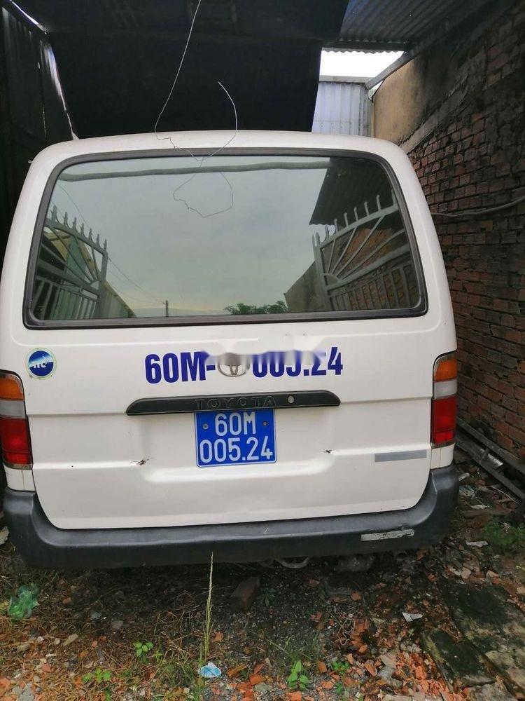Cần bán Toyota Hiace năm sản xuất 2005, màu trắng, nhập khẩu  (1)