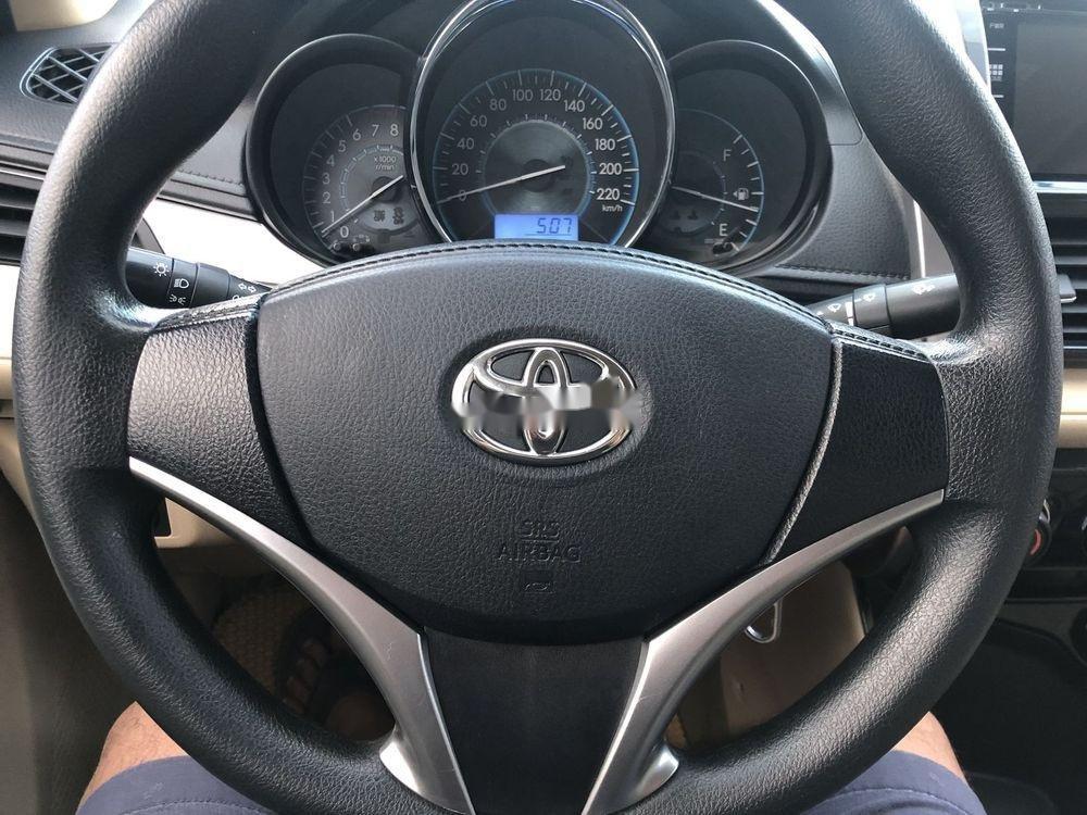 Bán Toyota Vios sản xuất năm 2017, màu trắng xe gia đình xe nguyên bản (5)