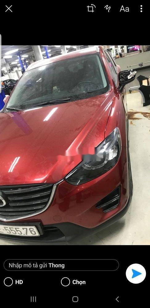 Bán Mazda CX 5 AT đời 2016, màu đỏ (2)