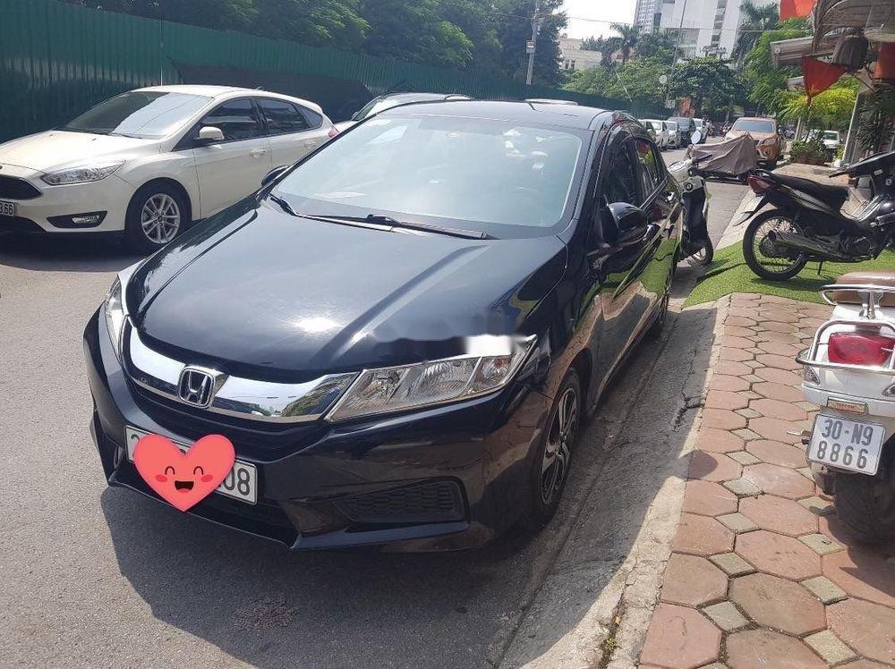 Cần bán lại xe Honda City đời 2016, màu đen, ít sử dụng, giá chỉ 448 triệu (1)