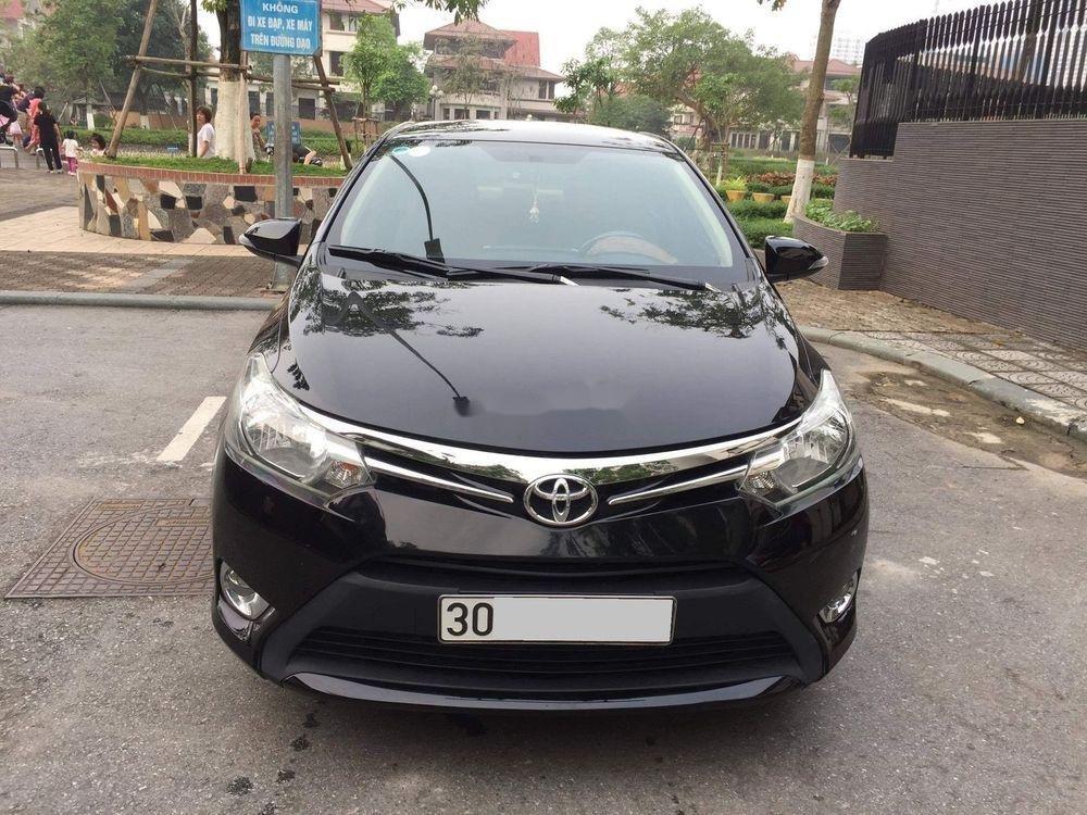 Bán xe Toyota Vios đời 2015, màu đen, chính chủ, 382tr (1)