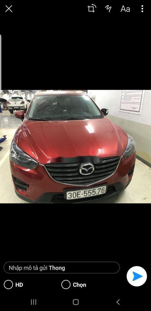 Bán Mazda CX 5 AT đời 2016, màu đỏ (1)