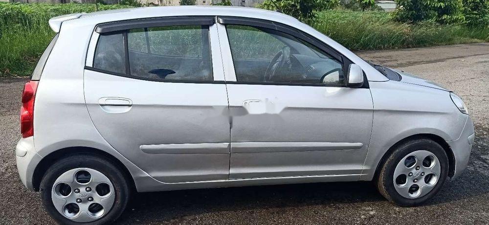 Bán xe Kia Morning đời 2011, màu bạc chính chủ xe nguyên bản (3)