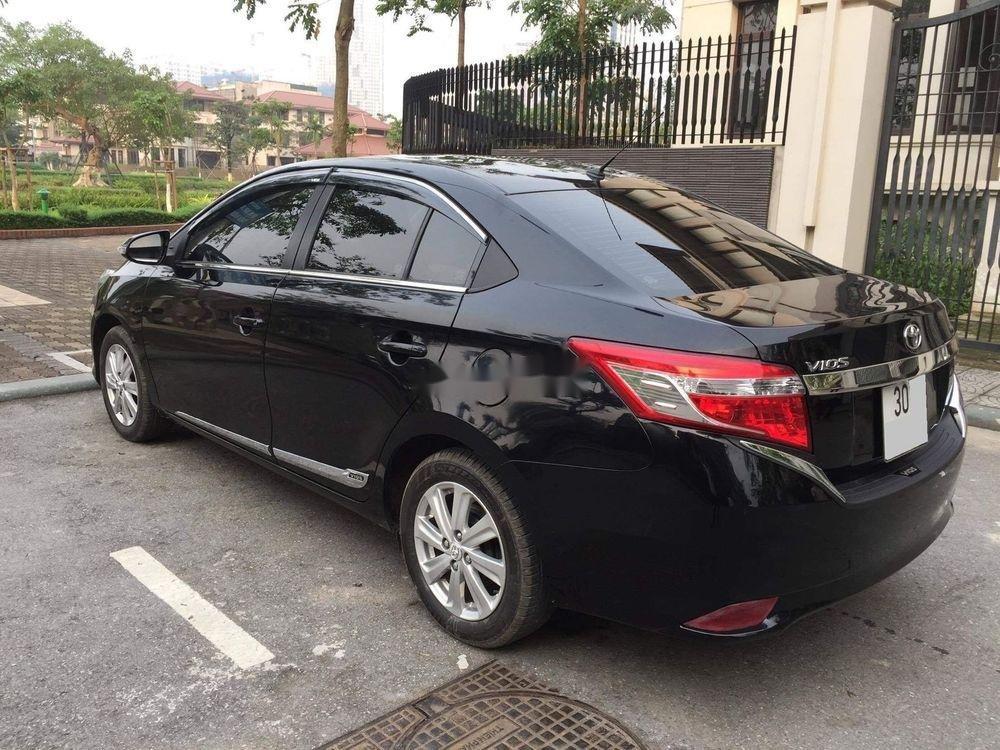 Bán xe Toyota Vios đời 2015, màu đen, chính chủ, 382tr (4)
