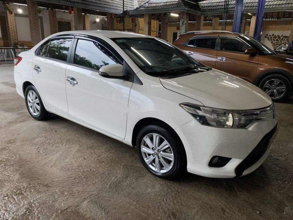 Bán Toyota Vios sản xuất 2016, màu trắng xe nguyên bản (2)