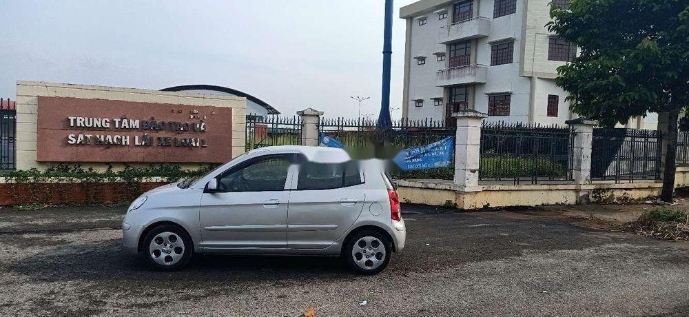 Bán xe Kia Morning đời 2011, màu bạc chính chủ xe nguyên bản (4)