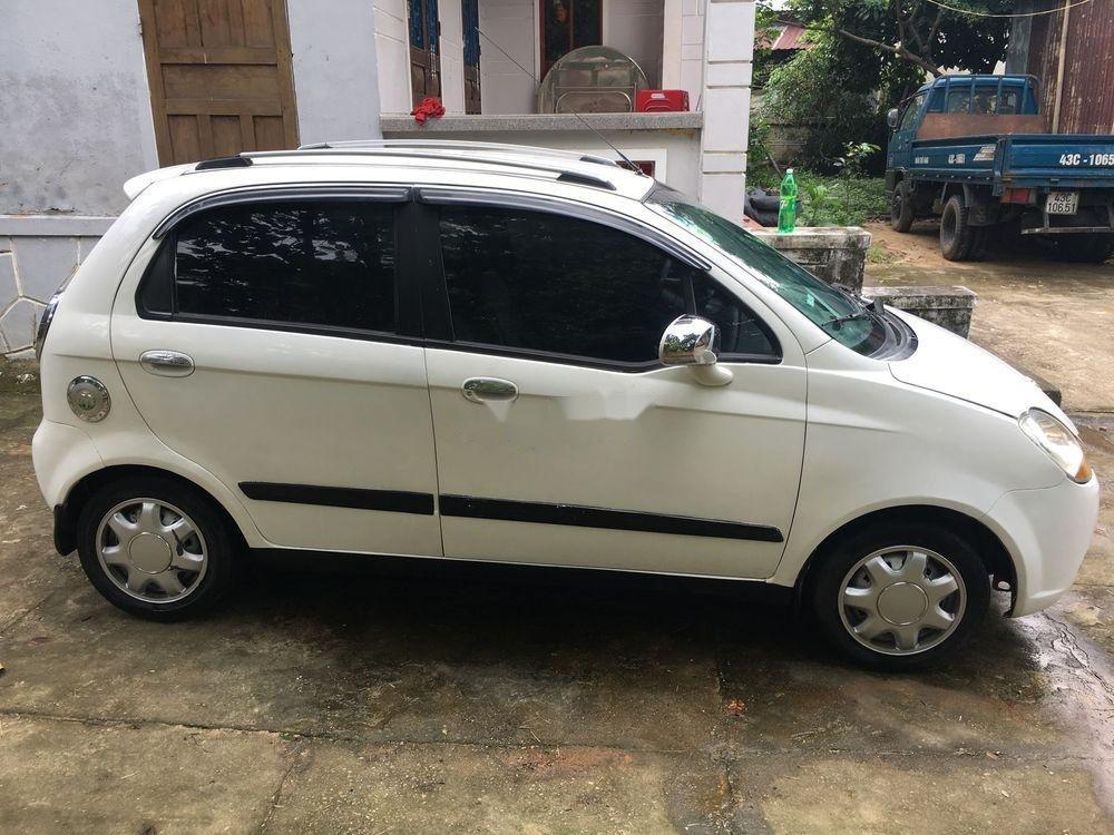 Bán xe Chevrolet Spark 2009, màu trắng, giá tốt (1)